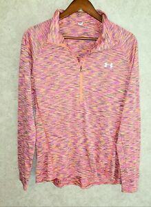 UNDER ARMOUR TECH 1/2 Zip  Long Sleeve Athletic Pullover Women's Sz XL