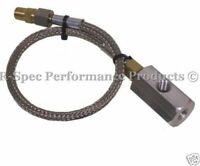 1/8 NPT Equal Oil Pressure / Oil Feed Sensor Sender Gauge Remote Adaptor Kit