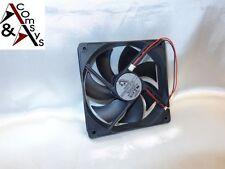 Pc alimentation ventilateur 12cm fan 120x120x25mm DC 12v très silencieux refroidisseur 120mm Black