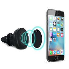 MagicGuardz Universal Cell Phone GPS Air Vent Magnetic Car Mount Cradle Holder