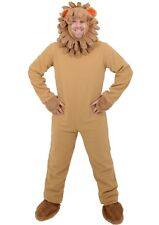 Adult Mens Lion Animal Halloween Fancy Dress Costume World Book Day -One Size