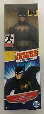 """DC Comics 12"""" 30cm   Batman JUSTICE LEAGUE action Figure black suit new !!!"""