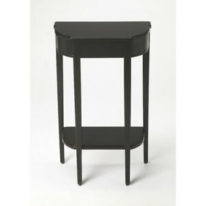 Butler Wendell Black Licorice Console Table, Black - 3009111