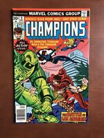Champions #9 (1976) 8.0 VF Marvel Bronze Age Comic Book High Grade Black Widow