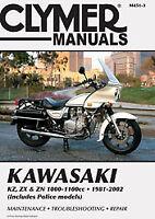 CLYMER REPAIR MANUAL Fits: Kawasaki ZX1100 GPZ,ZN1100B M451-3 Motorcycle 70-0451
