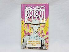 Issac Asimov's Robot City - Book 4: Prodigy - 1988 Paperback