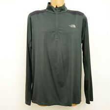 The North Face Mens Sz M 1/4 Zip Quick Dry Pullover Long Sleeve Running Shirt