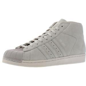 adidas Originals Mens Pro Model Beige Fashion Sneakers 8.5 Medium (D) BHFO 3842