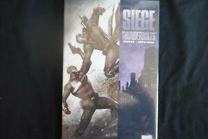 Siege Thunderbolts Hardcover graphic Novel (b21) Marvel