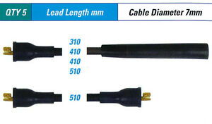 Spark Plug Leads FOR Fiat 128 --