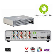 Scheda Matrox mxo2 Mini Max I/O-Box - > notebook e desktop più velocemente codificatore h.264 mp4