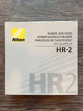 Nikon HR-2 Gumigegenlichtblende für 50mm (NEU/OVP)