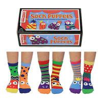 Socken Sock Puppets Sockenpuppen Oddsocks in 27-30,5 Strümpfe bunt im 6er Set