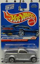 TRUCK RAM PICKUP 2000 POWER WAGON CONCEPT MOPAR DODGE BOYS MATTEL HW HOT WHEELS