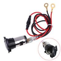 1 Set 12V Car Boat Tractor Cigarette Lighter Power Socket Outlet Plug 120W