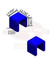 1 set(2) HM75-65114 of peterbilt 359 ATRO polyurethane hood bumper bushings