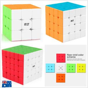 Magic Cube Super Smooth Fast Speed Puzzle Rubix Rubics Rubik Toy Kid Xmas Gift