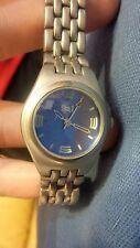 L.e.i. ladies blue dial quartz watch