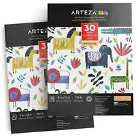 "Arteza Kids"" Watercolor Pad, 9"" x 12"", 30 Sheets - Set of 2"