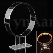 Acrylic Headband Display Stand Jewelry Hairband Hair Wrap Watch Holder Hanging