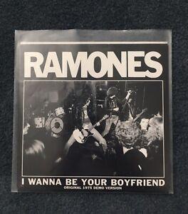 The Ramones - I Wanna Be Your Boyfriend / Judy is a Punk Demo - RSD 2016 Mint