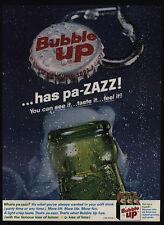 1962 BUBBLE UP Soda Has pa-ZAZZ VINTAGE ADVERTISEMENT