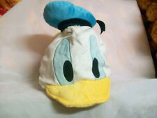 Disney Donald Duck Costume Cosplay Party Plush Warm Hat Cap Kids/Adults