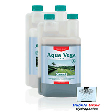 CANNA AQUA VEGA A&B 2X1L HYDROPONIC GROW GROWING NUTRIENTS