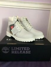 Ghost White Timberlands Limited Edition
