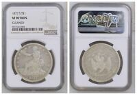 NGC Trade Dollar 1887 S Mint Silver Coin VF