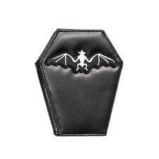 Wallet Coffin Portefeuille Rock Daddy Cercueil Bat Chauve souris Gothic Gothique