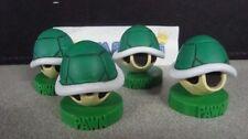 Nintendo Super Mario Bros 4x Koopa Shell Pawn Chess Piece Cake Topper Figure New
