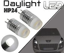 Peugeot 3008 2 Ampoules LED Blanc Veilleuses Feux diurne Jour sans Feux xenon