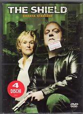 dvd THE SHIELD QUARTA STAGIONE 4 Contiene 4 DVD
