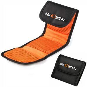 K&F Concept 3 Pocket Filter Wallet Case