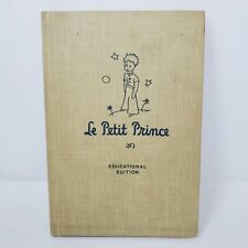 Le Petit Prince Educational Edition 1946 Vintage French Antoine de Saint Exupery