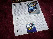 Brochure Magazine CATERHAM New Issue 1 Gamme / Full line 1998 //