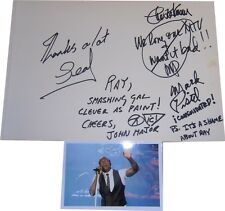 Seal SIGNED AUTOGRAPHS MTVs Most Wanted AFTAL UACC rd