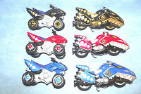 POWER RANGERS DINO THUNDER RAPTOR RIDER ATV CYCLE CHARIOT VEHICLE COLLECTION