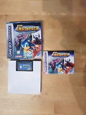 GBA Sega Smashpack (2003) Nintendo Gameboy Advance Complete Near Mint Condition