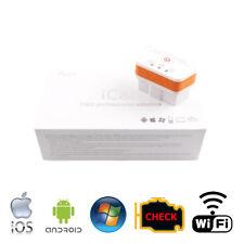Vgate iCar 2 BT OBD2 Diagnose Interface Android WindowsPhone Weiß//Orange