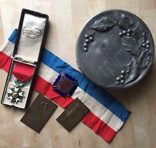 Lot Infirmière 1914 18 Yolande De Baye Médailles Croix De Feu Maréchal