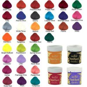 4 X La Riche Directions Coloration Semi Permanente Teinture Tout Couleurs
