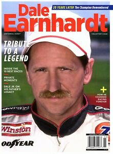 Centennial Icons DALE EARNHARDT Magazine ~Tribute to a Legend ~20 Yrs Later ~NEW