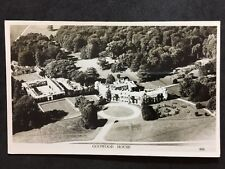RP Vintage Postcard - Sussex #B4 - Goowood House - Aerial View - Chapman & Son