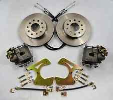 GM 10 & 12 BOLT REAR DISC BRAKE CONVERSION KIT E-BRAKE CALIPERS