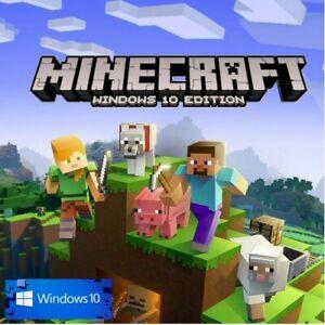Minecraft Windows 10 Edition CD Key Digital Code (PC only)