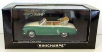 MINICHAMPS 1/43 - 430 015934 WARTBERG 312 CABRIOLET 1958 CREAM / GREEN