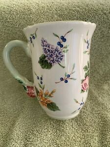 Princess House Exclusive Vintage Garden Floral 12 oz Cup Coffee Mug