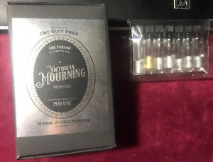 The Parlor Company Victorian Mourning Collection Perfume Samples Gothic